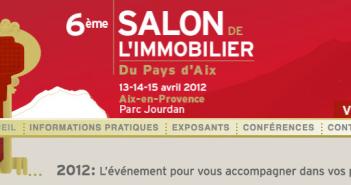Salon immobilier Aix
