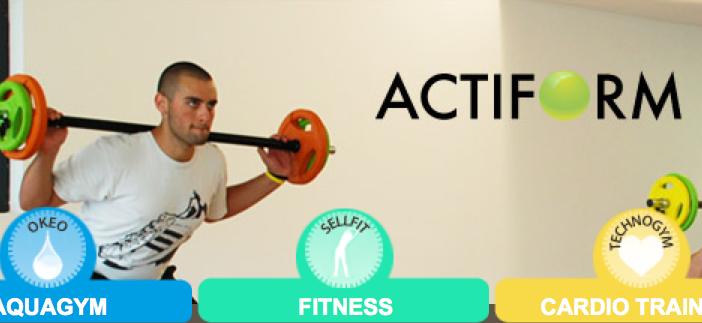 club fitness aquagym aix actiform
